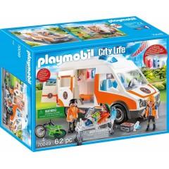 Playmobil City Life 70049 Karetka ze światłem i dźwiękiem
