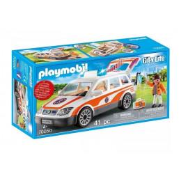 Playmobil City Life 70050 Samochód ratowniczy ze światłem i dźwiękiem