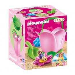 """Playmobil Sand 70065 Wiaderko """"Wiosenny kwiat"""""""
