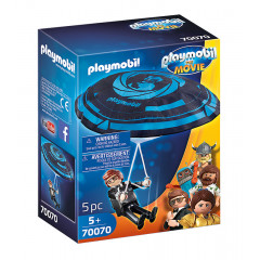 Playmobil The Movie Film 70070 Rex Dasher ze spadochronem