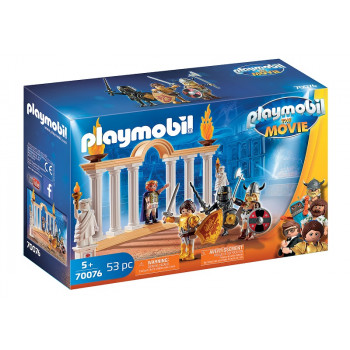 Playmobil The Movie Film 70076 Cesarz Maximus w Koloseum