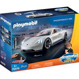 Playmobil The Movie Film 70078 Porsche Mission E Rexa Dashera