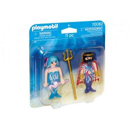 Playmobil Duo Pack 70082 - Król morza z syrenką