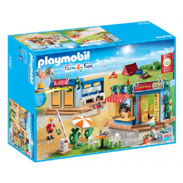 Playmobil Family Fun 70087 Duży plac kempingowy