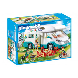 Playmobil Family Fun 70088 Rodzinne auto kempingowe