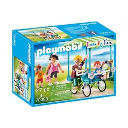 Playmobil Family Fun 70093 Rower rodzinny