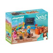 Playmobil 70121 Spirit: Riding Free Mustang - Sala lekcyjna panny Flores