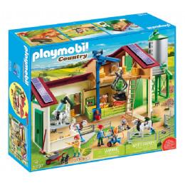 Playmobil Country 70132 Duże gospodarstwo rolne z silosem
