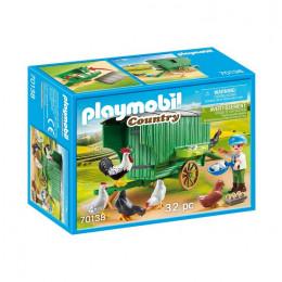 Playmobil Country 70138 Mobilny kurnik