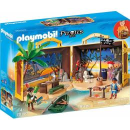 Playmobil 70150 Piraci - Przenośna wyspa piracka
