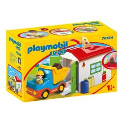 Playmobil 1-2-3 70184 Ciężarówka z garażem i sorterem