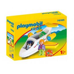Playmobil 1-2-3 70185 Samolot pasażerski