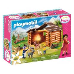 Playmobil Heidi 70255 - Zagroda dla kóz Piorka