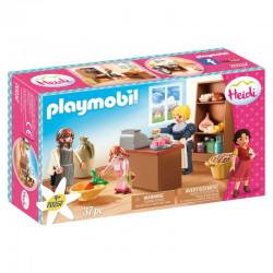 Playmobil Heidi 70257 - Wiejski sklepik rodziny Keller