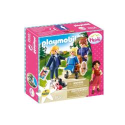 Playmobil Heidi 70258 - Klara z tatą i panną Rottenmeier