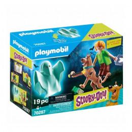 Playmobil Scooby Doo - Scooby Doo i Kudłaty z duchem – 70287