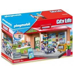 Playmobil 70320 City Life - Przenośny sklep z warzywami