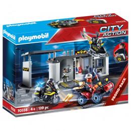 Playmobil City Action 70338 – Przenośna centrala jednostki specjalnej