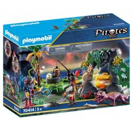 Playmobil 70414 Piraci - Kryjówka skarbów piratów