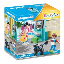 Playmobil Family Fun – Urlopowicze przy bankomacie - 70439