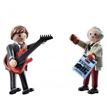 Playmobil 70459 - Powrót do przyszłości - Dwupak figurek: Marty McFly i Dr. Emmet Brown