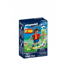 Playmobil 70482 Sports&Action - Piłkarz reprezentacji Hiszpanii