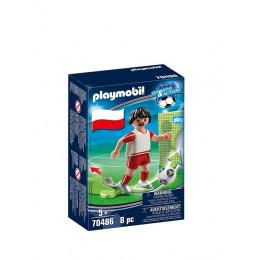 Playmobil 70486 Sports&Action - Piłkarz reprezentacji Polski