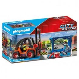 Playmobil City Action 70772 Wózek widłowy z ładunkiem