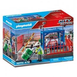 Playmobil City Action 70773 Skład towarów