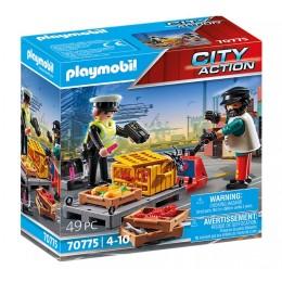 Playmobil City Action 70775 Kontrola celna