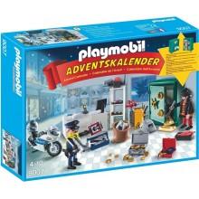 Playmobil 9007 Kalendarz adwentowy - Akcja policyjna