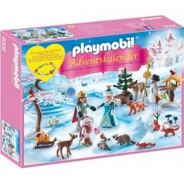 Playmobil 9008 Kalendarz adwentowy - Lodowa księżniczka w zamkowym parku