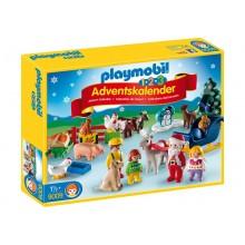 Playmobil 1-2-3 9009 Kalendarz adwentowy