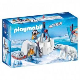 Playmobil Action 9056 Strażnicy polarni z niedźwiedziami