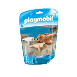 Playmobil 9069 Figurki - Foki