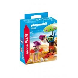 Playmobil Special Plus 9085 Dzieci z zamkiem z piasku