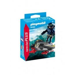 Playmobil Special Plus 9086 Sky Knight z pojazdem latającym