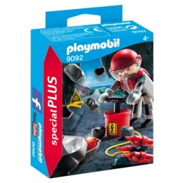 Playmobil 9092 Special Plus - Wysadzanie skały