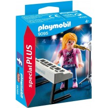 Playmobil 9095 Special Plus - Piosenkarka z keybordem