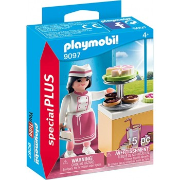 Playmobil 9097 Special Plus - Pani cukiernik za ladą