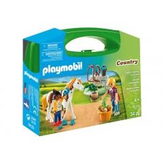 Playmobil Country 9100 Skrzyneczka - Pielęgnacja koni