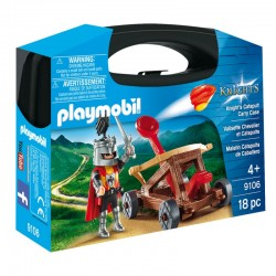 Klocki Playmobil 9106 Rycerze - Skrzyneczka - Rycerz z katapultą