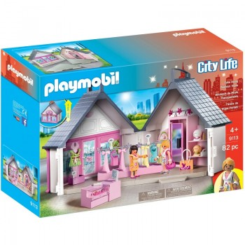 Klocki Playmobil 9113 City Life - Przenośny butik