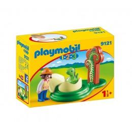 Playmobil 1-2-3 9121 Mały dinozaur w jajku