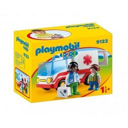 Playmobil 1-2-3 9122 Karetka pogotowia