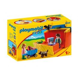 Playmobil 1-2-3 9123 Przenośny stragan zakupowy