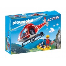Playmobil Action 9127 Helikopter ratownictwa górskiego