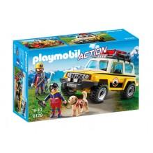 Playmobil Action 9128 Pojazd ratownictwa górskiego