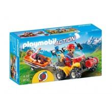 Playmobil Action 9130 Quad ratownictwa górskiego