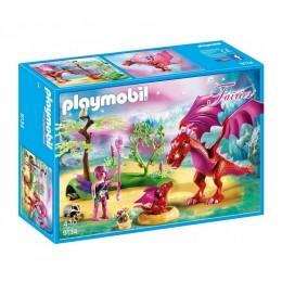 Playmobil Wróżki 9134 Smocza mama ze smoczątkiem
